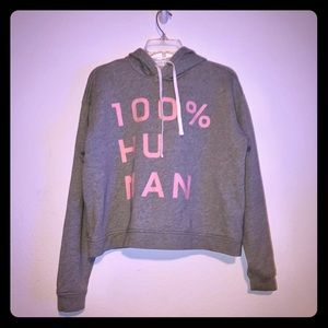 Everlane 100% Human Hoodie Sweatshirt Size S